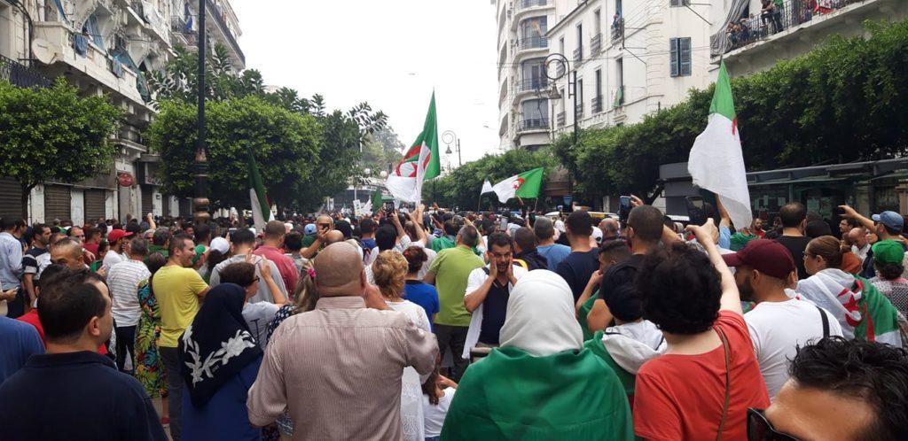 Hirak à Alger - photo D.R.